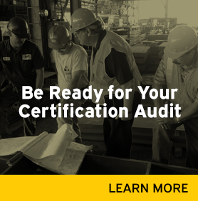 Be ready for your certification audit link