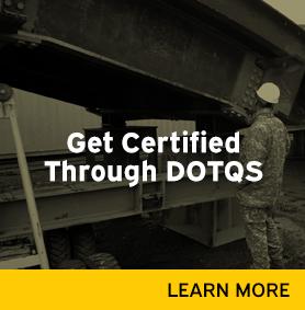 Get Certified Through DOTQS link